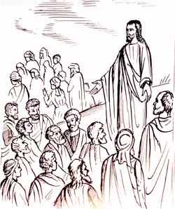 1. Ο Κυριος διδάσκει